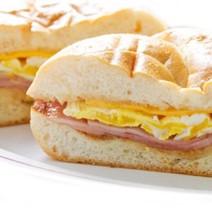 Ham Egg & Cheese (Sandwich)